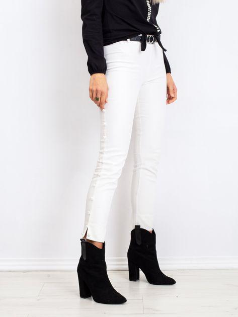 Białe spodnie Pearl                              zdj.                              3