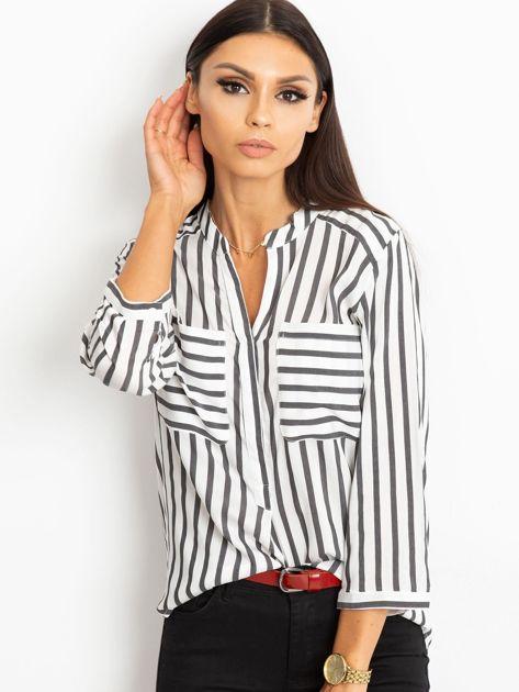 Biało-czarna bluzka Sienna                              zdj.                              1