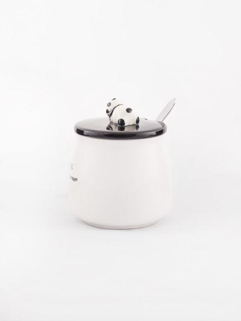 Biało-czarny kubek z pandą                              zdj.                              4
