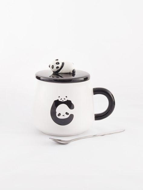 Biało-czarny kubek z pandą                              zdj.                              6