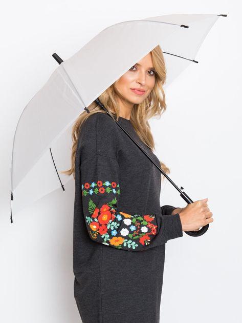 Biało-czarny parasol