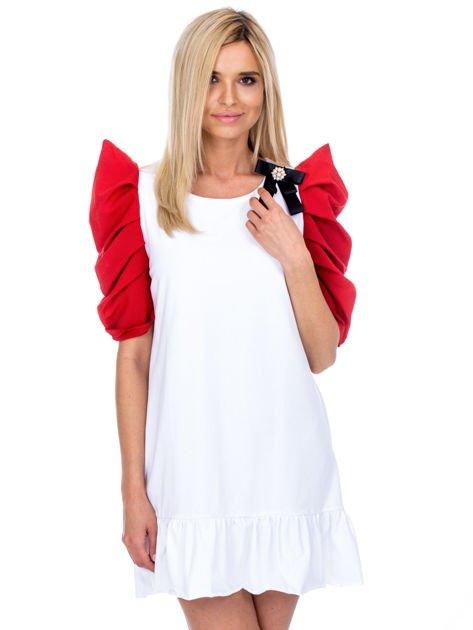 Biało-czerwony strój wróżki                              zdj.                              1