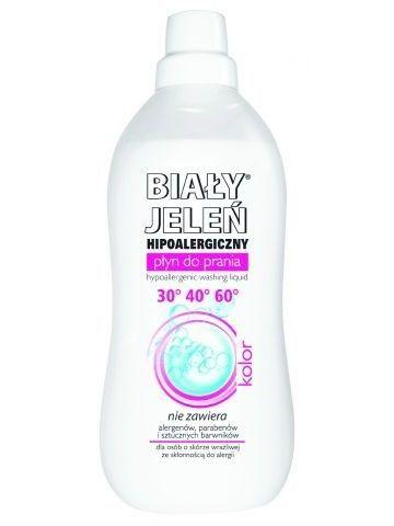 Biały Jeleń Płyn do prania tkanin hipoalergiczny Kolor 1 l                              zdj.                              2