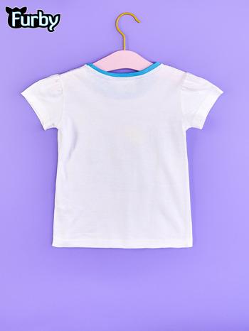 Biały chłopięcy t-shirt FURBY