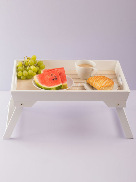 Biały stolik śniadaniowy                              zdj.                              1
