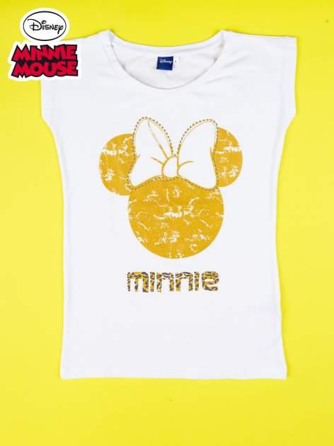 Biały t-shirt MINNIE MOUSE                                  zdj.                                  9