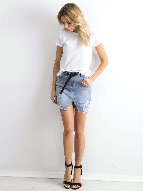 Biały t-shirt Peachy                              zdj.                              4