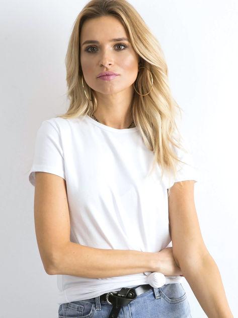 Biały t-shirt Peachy                              zdj.                              5
