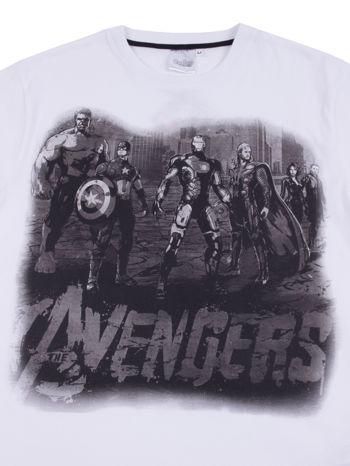 Biały t-shirt męski AVENGERS                                  zdj.                                  9