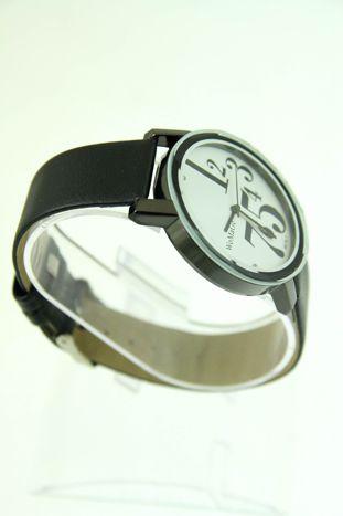 Biały zegarek damski z cyrkoniami na pasku                                  zdj.                                  2