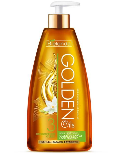 Bielenda Golden Oils Ultra Ujędrnianie Olejek do kąpieli i pod prysznic 250ml