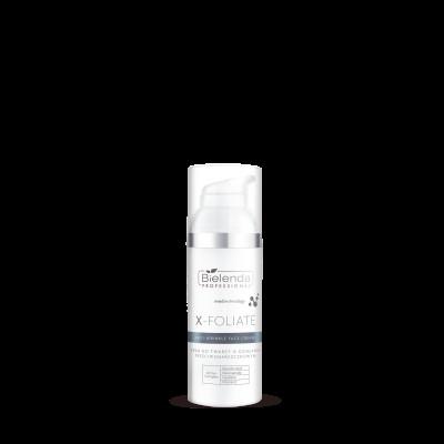 """Bielenda Professional X- FOLIATE Anti Wrinkle krem do twarzy o działaniu przeciwzmarszczkowym 50ml"""""""