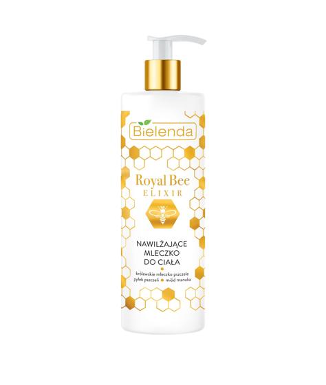 """Bielenda Royal Bee Elixir Mleczko do ciała nawilżające  400ml"""""""