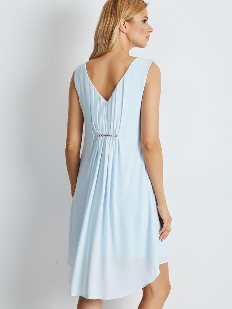 Błękitna sukienka Starlight                              zdj.                              2
