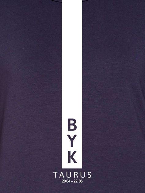 Bluza damska BYK znak zodiaku grafitowa                              zdj.                              2