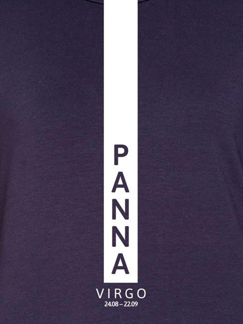 Bluza damska PANNA znak zodiaku grafitowa                              zdj.                              2