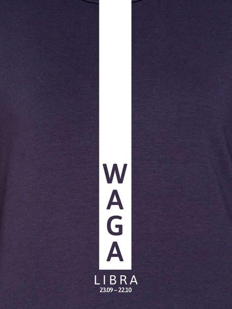 Bluza damska WAGA znak zodiaku grafitowa                                  zdj.                                  2