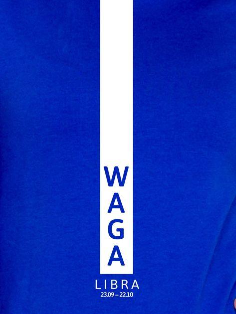 Bluza damska WAGA znak zodiaku kobaltowa                              zdj.                              2
