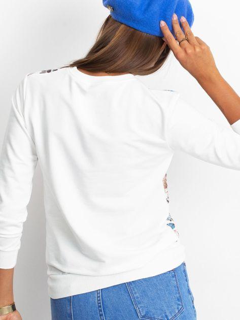 Bluza w niebieskie kwiaty                              zdj.                              2