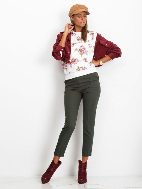 Bluza w różowe kwiaty                              zdj.                              2