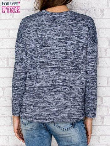 Bluza z kieszenią granatowa                              zdj.                              2