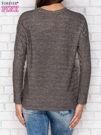 Bluza z kieszenią khaki