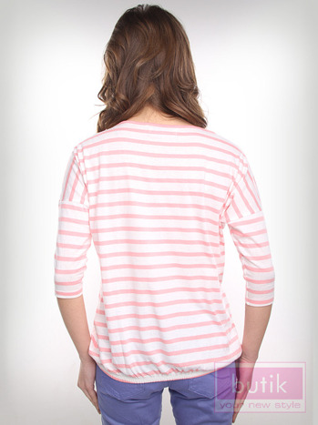 Bluzka w paski                                  zdj.                                  2