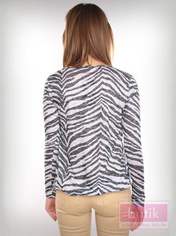 Bluzka z motywem zebry                                  zdj.                                  3