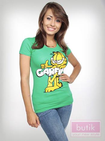 Bluzka z wizerunkiem Garfielda                                  zdj.                                  4