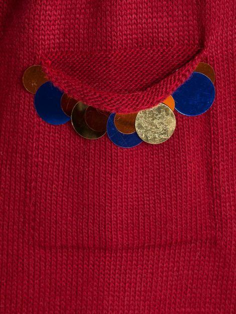 Bordowy sweter Cairo                              zdj.                              6