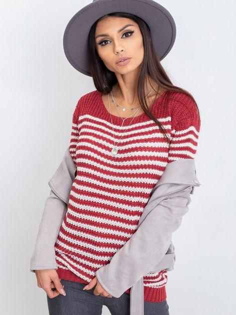 Bordowy sweter Oscar                              zdj.                              7
