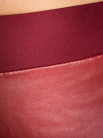 Borodowe dwustronne legginsy skórzane                                  zdj.                                  5
