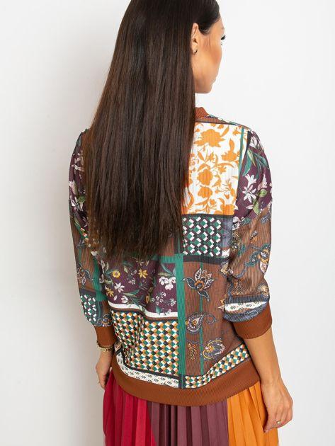 Brązowa bluza Chic                              zdj.                              2