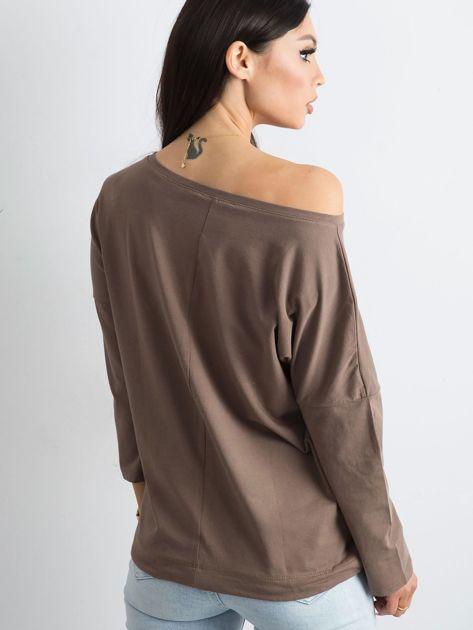 Brązowa bluzka Fiona                              zdj.                              2