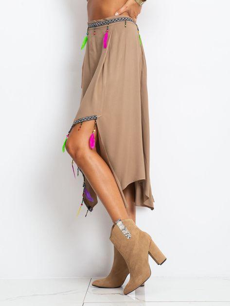 Brązowa spódnica AMAZON                              zdj.                              3