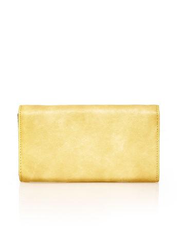 Brązowy portfel z zapięciem na magnes                                  zdj.                                  2
