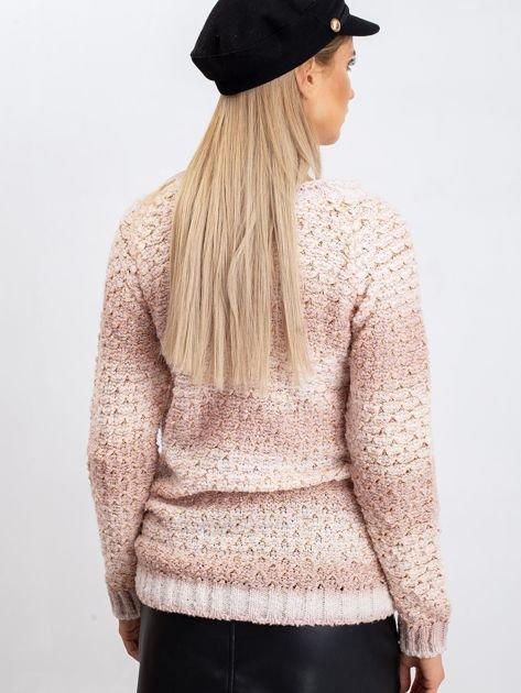 Brudnoróżowy sweter Agatha                              zdj.                              2