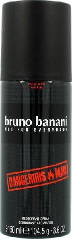 "Bruno Banani Dangerous Man Dezodorant spray 150ml"""