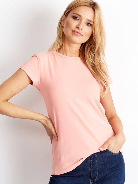 Brzoskwiniowy t-shirt Peachy                              zdj.                              1