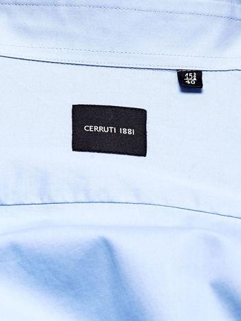 CERRUTI Jasnoniebieska koszula męska                                  zdj.                                  4