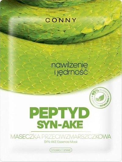 CONNY koreańska maska przeciwzmarszczkowa z jadem węża PEPTYD SYN-AKE 1 szt.                              zdj.                              1