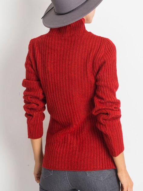 Ciemnoczerwony sweter Milo                              zdj.                              2