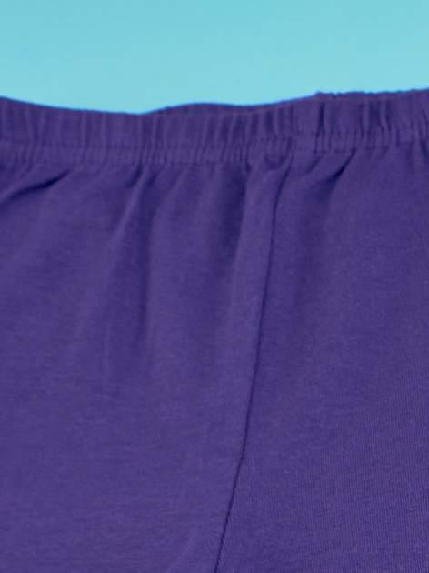 Ciemnofioletowe legginsy dla dziewczynki MY LITTLE PONY                                  zdj.                                  4