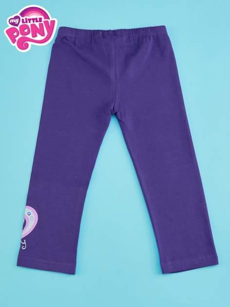 Ciemnofioletowe legginsy dla dziewczynki MY LITTLE PONY                                  zdj.                                  2