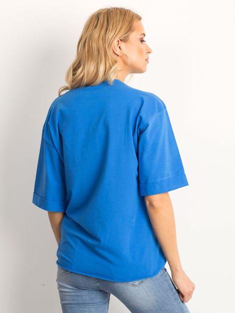 Ciemnoniebieska bluzka Celebration                              zdj.                              2