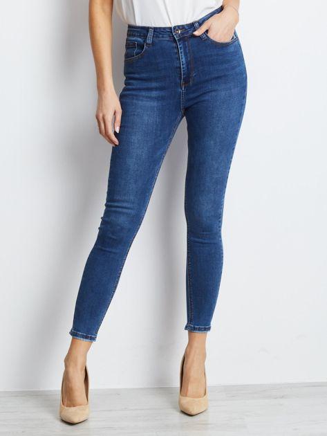 Ciemnoniebieskie jeansy Practice                              zdj.                              1