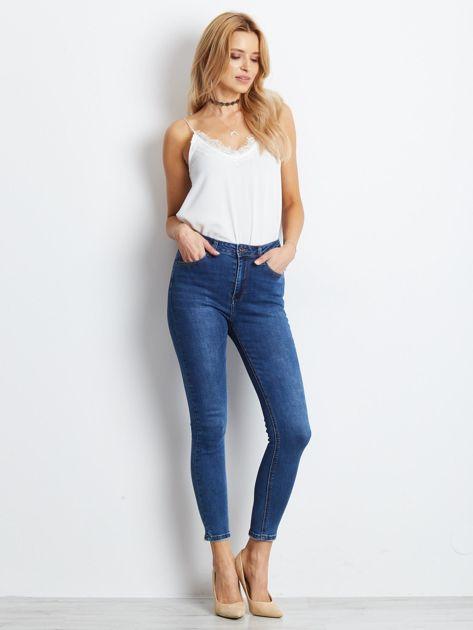 Ciemnoniebieskie jeansy Practice                              zdj.                              4