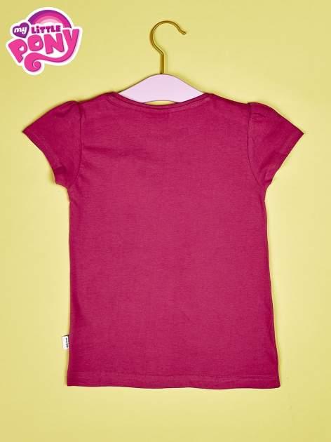 Ciemnoróżowy t-shirt dla dziewczynki MY LITTLE PONY                                  zdj.                                  2