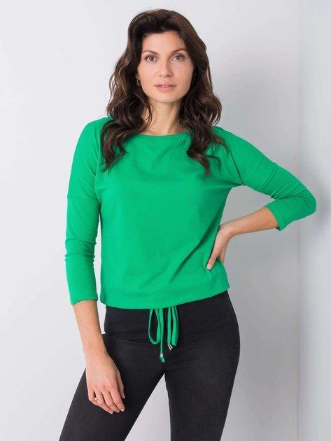 Ciemnozielona bluzka Fiona