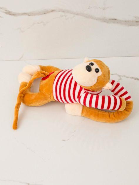 Ciemnożółta maskotka Małpka                              zdj.                              1
